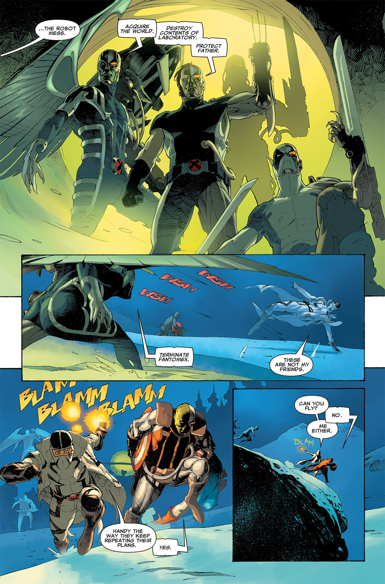 Read online Uncanny X-Force (2010) comic -  Issue #6 - 14