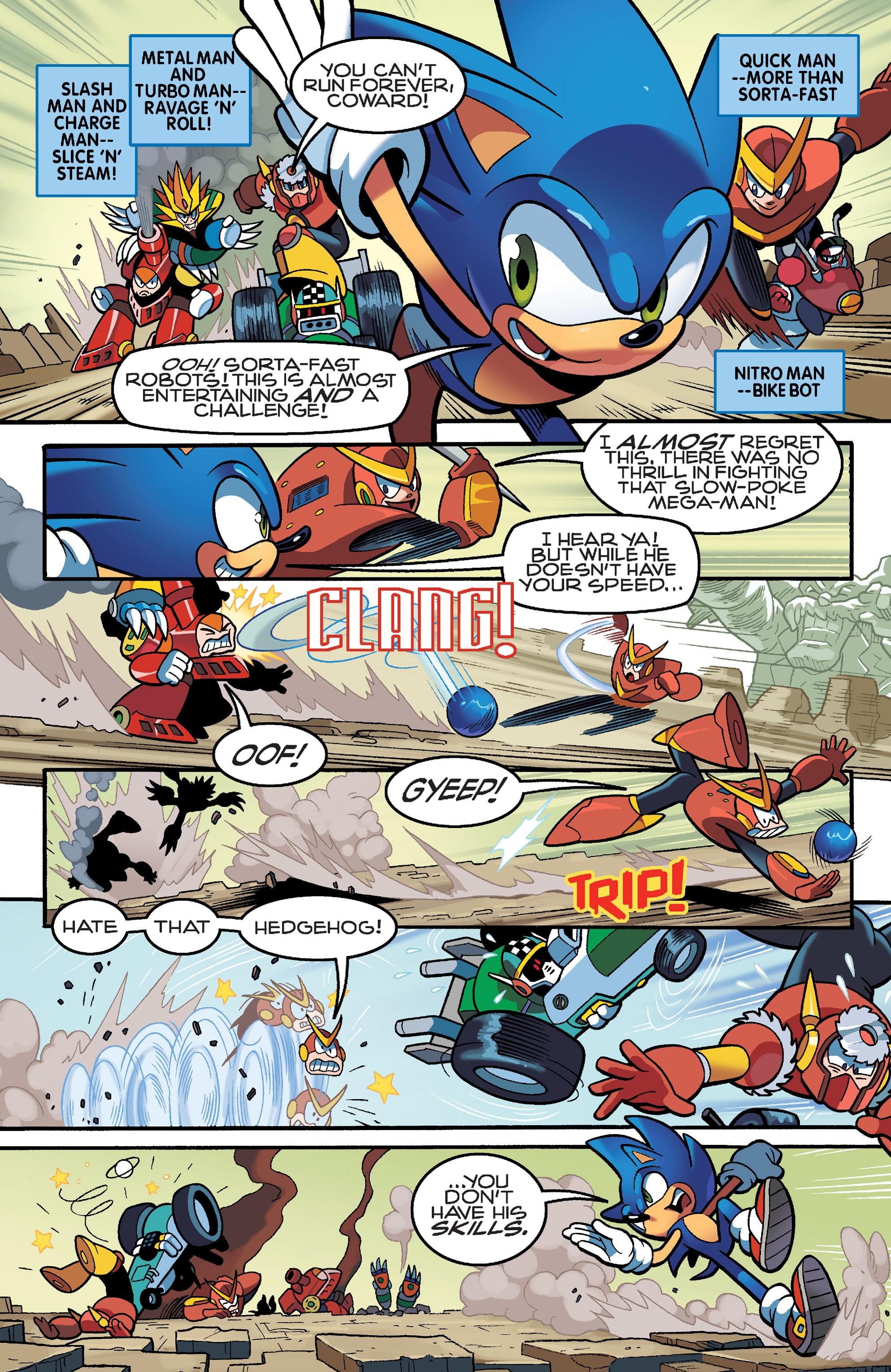 Read online Sonic Mega Man Worlds Collide comic -  Issue # Vol 3 - 23