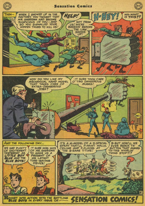 Read online Sensation (Mystery) Comics comic -  Issue #80 - 21