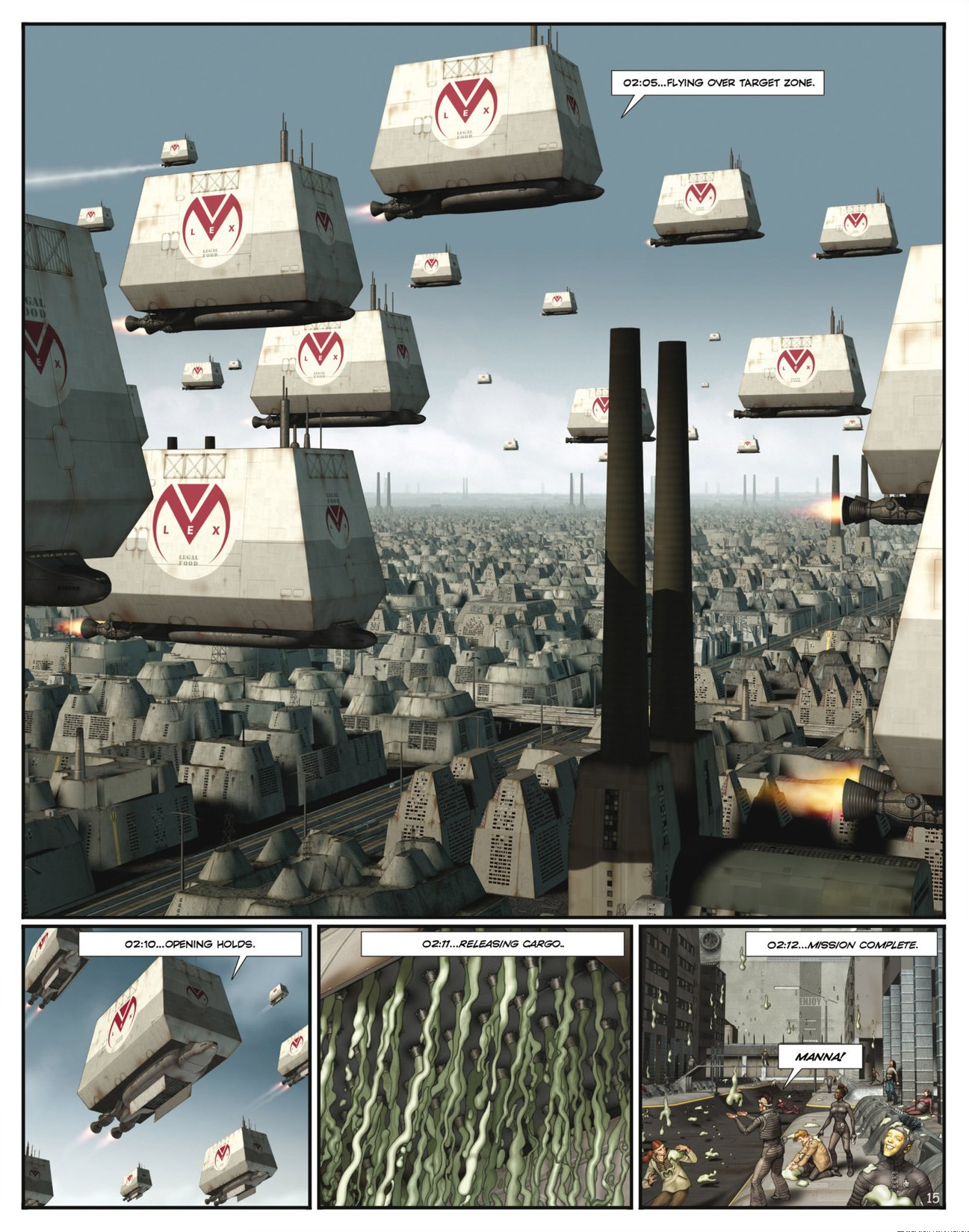 Read online Megalex (2014) comic -  Issue #2 - 17