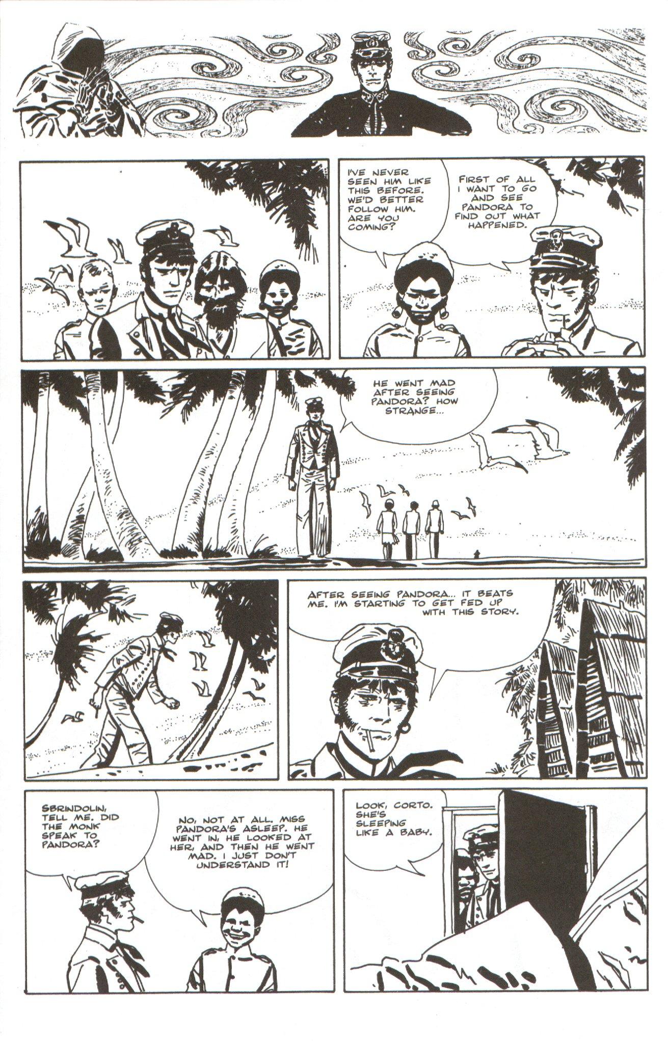 Read online Corto Maltese: Ballad of the Salt Sea comic -  Issue #4 - 16