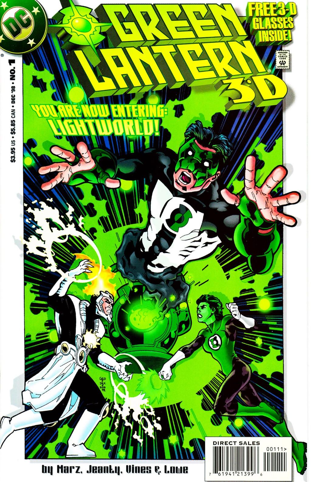 Green Lantern 3-D Full Page 1