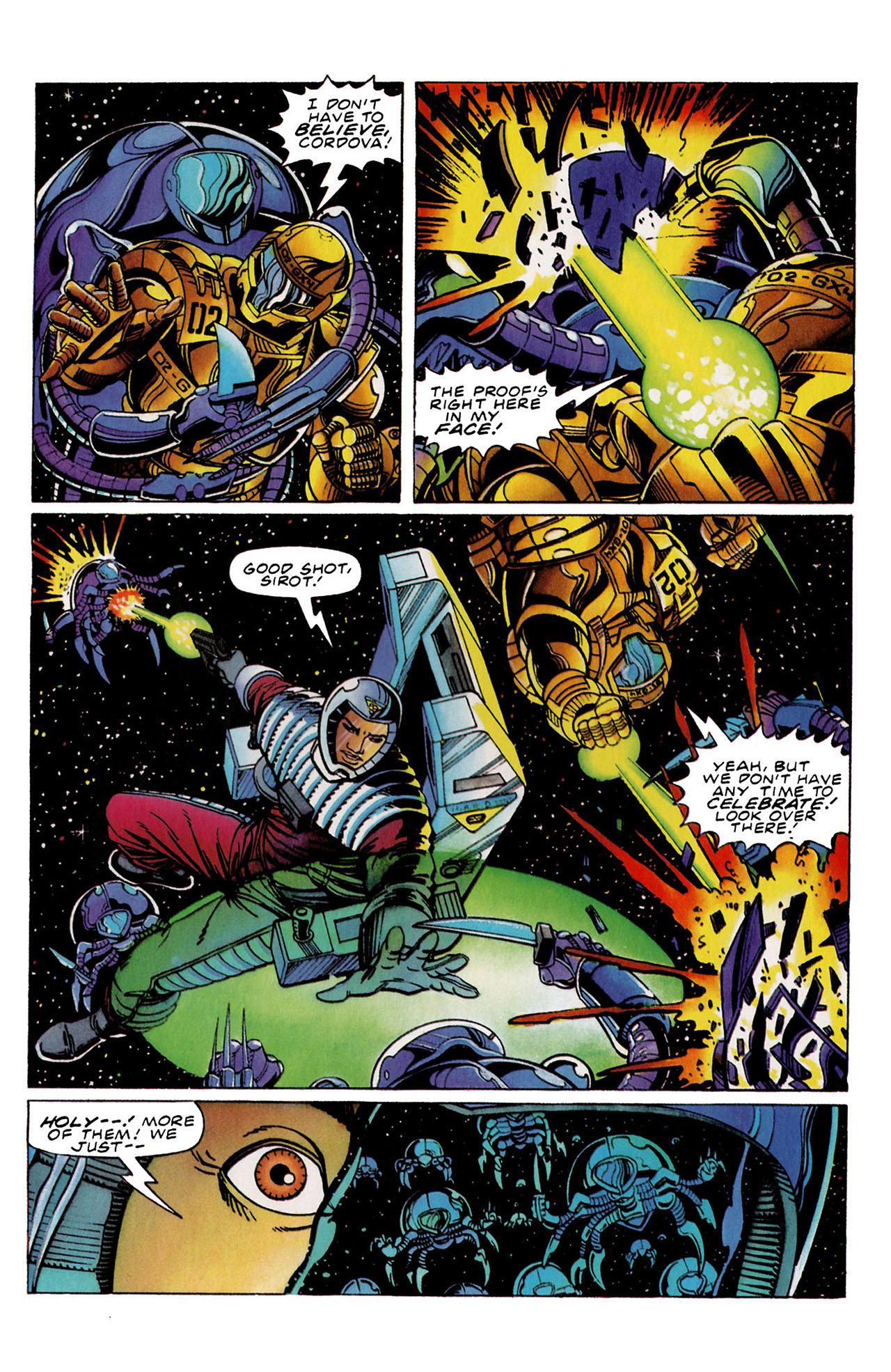 Read online Harbinger (1992) comic -  Issue #34 - 21