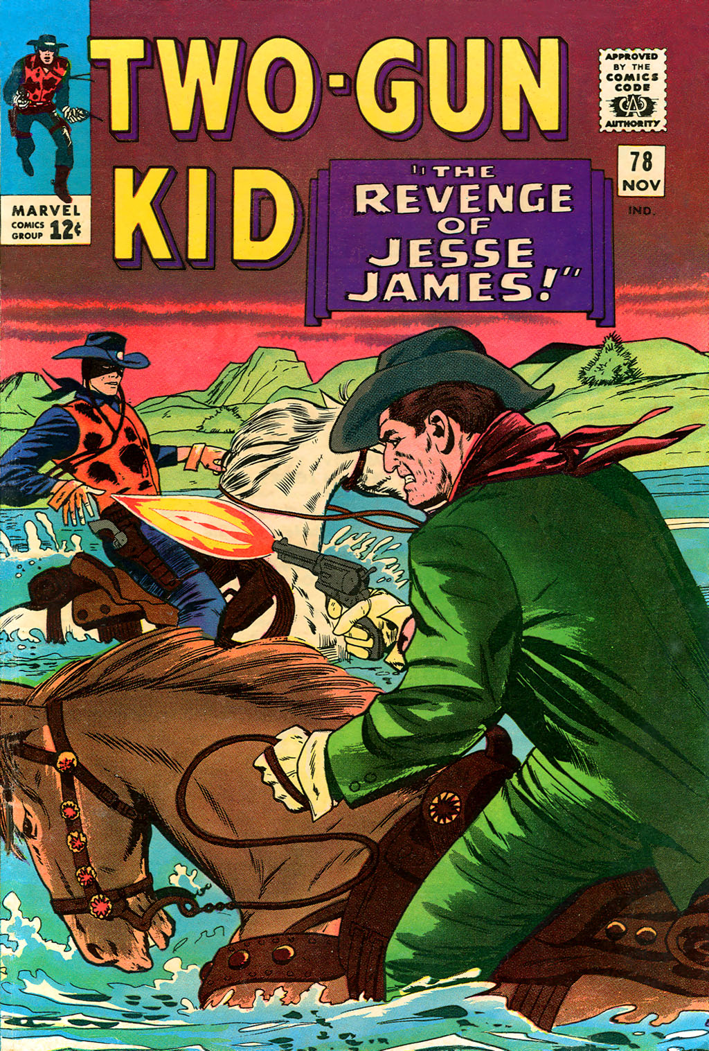 Read online Two-Gun Kid comic -  Issue #78 - 1