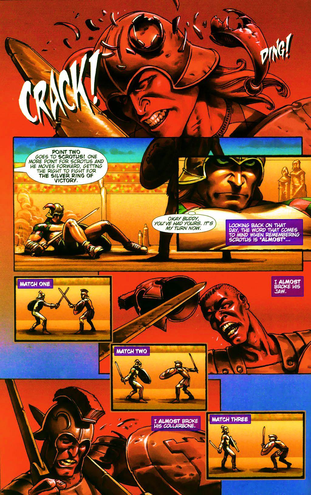Read online Dawn: Three Tiers comic -  Issue #4 - 14