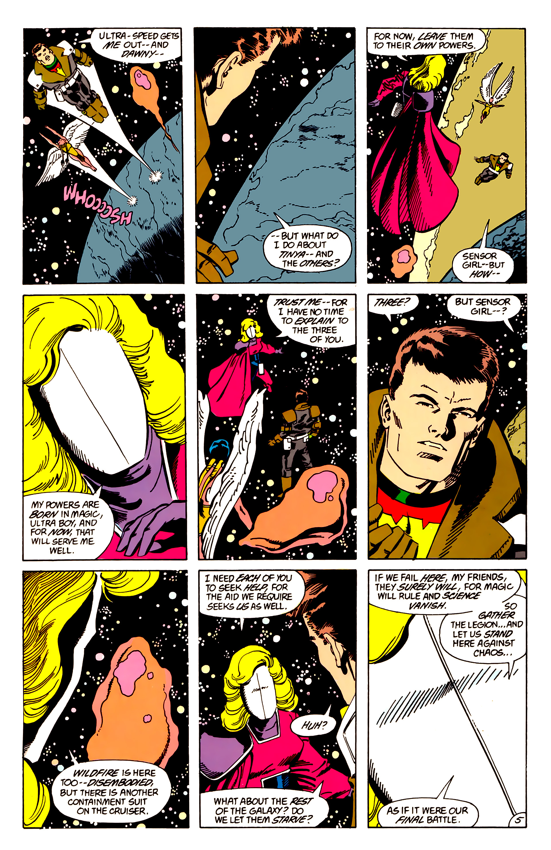 Legion of Super-Heroes (1984) 63 Page 5