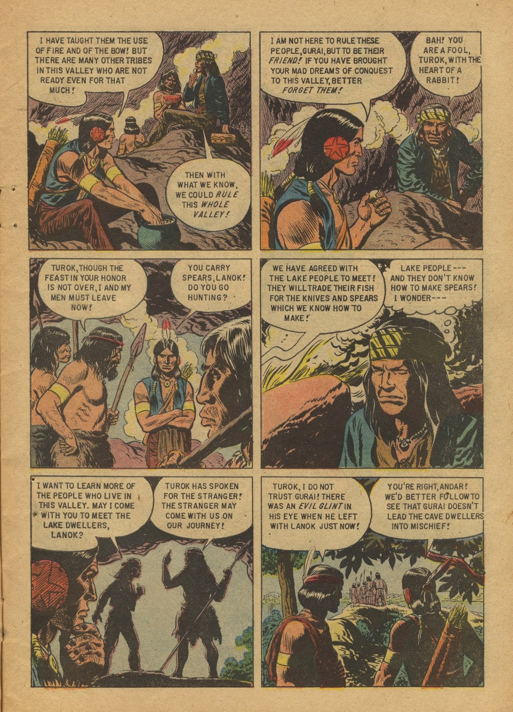 Read online Turok, Son of Stone comic -  Issue #12 - 7