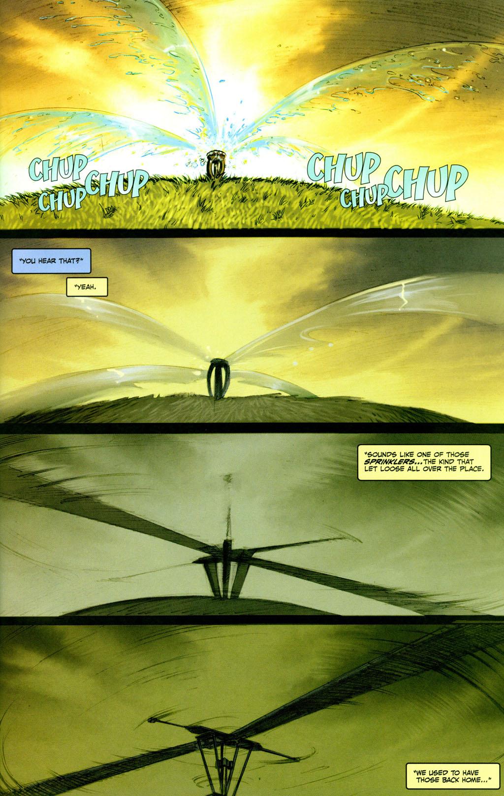 Read online Snake Eyes: Declassified comic -  Issue #1 - 7