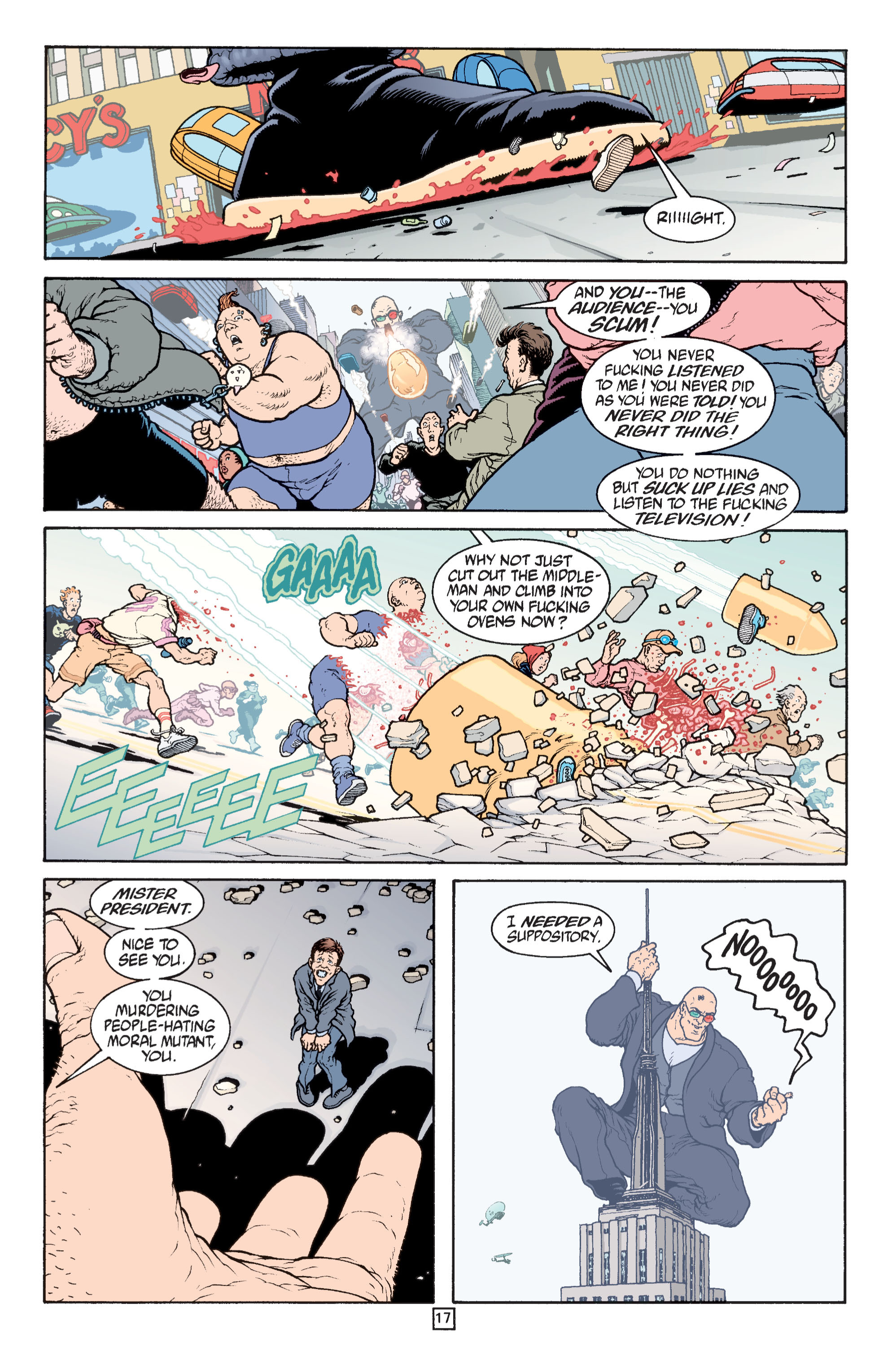 Read online Transmetropolitan comic -  Issue #31 - 18