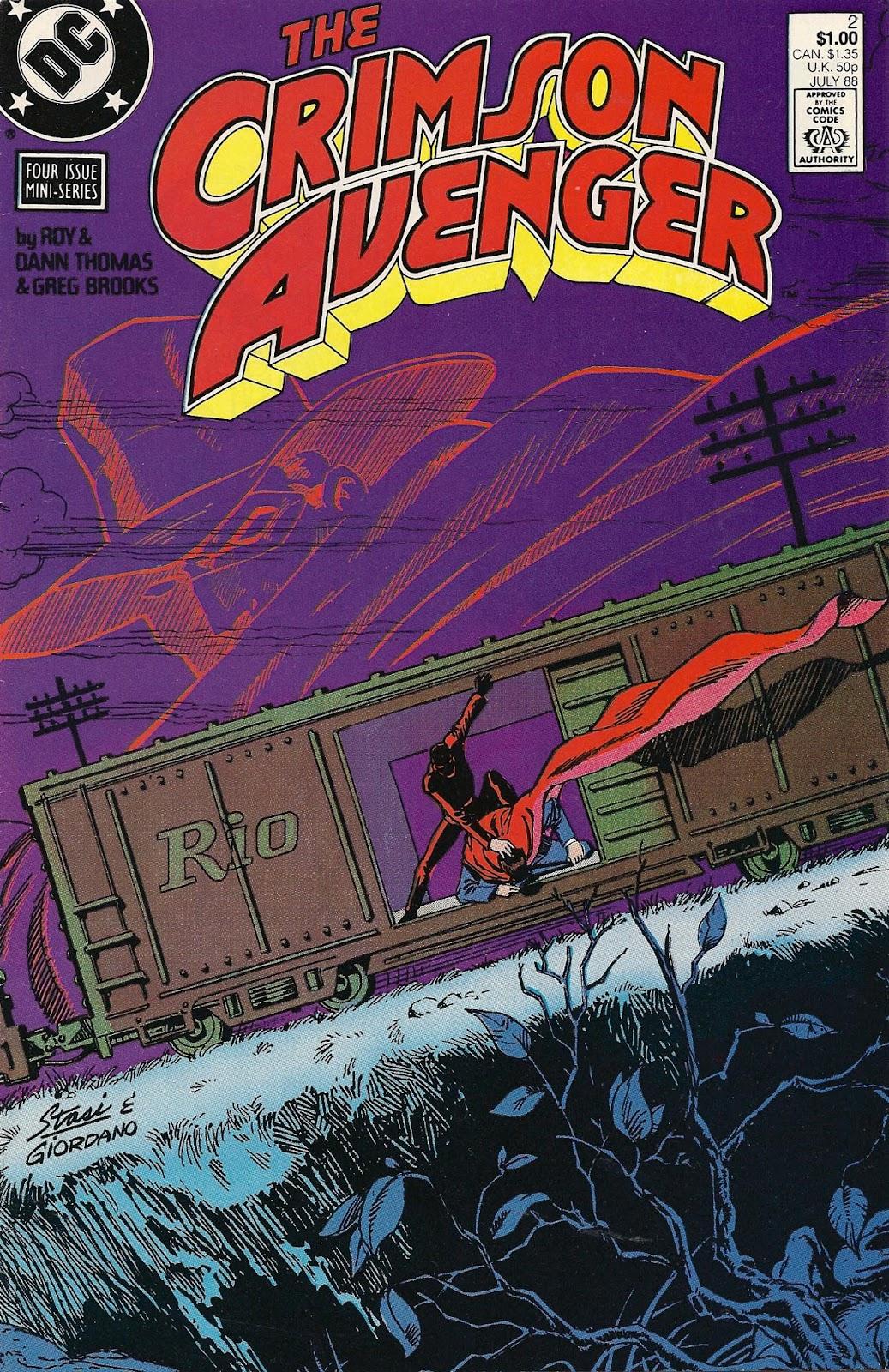 Crimson Avenger issue 2 - Page 1