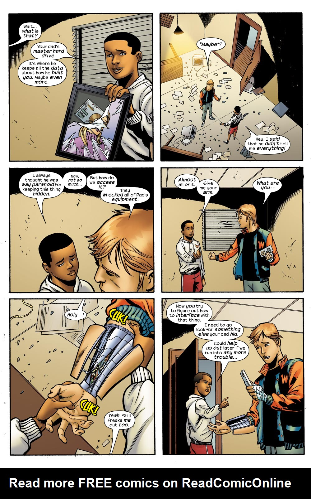 Read online Machine Teen comic -  Issue #4 - 10