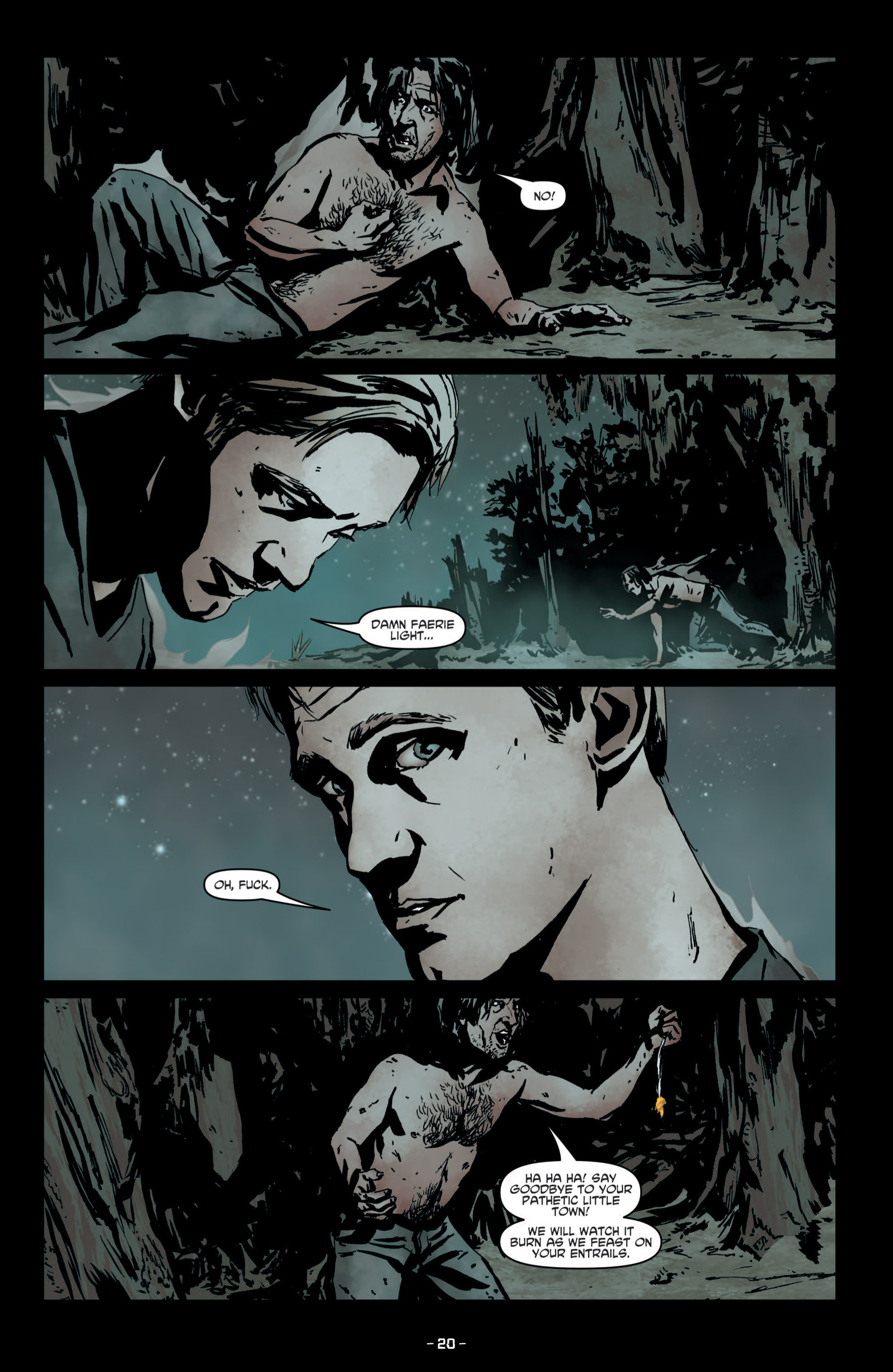 Read online True Blood (2012) comic -  Issue #9 - 22