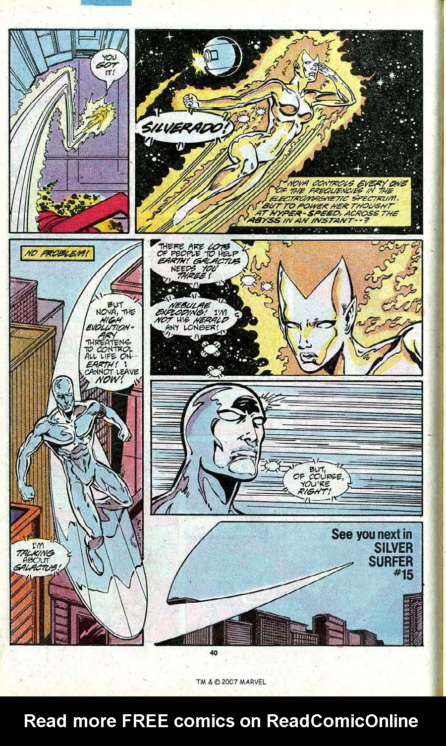 Read online Silver Surfer (1987) comic -  Issue # _Annual 1 - 42