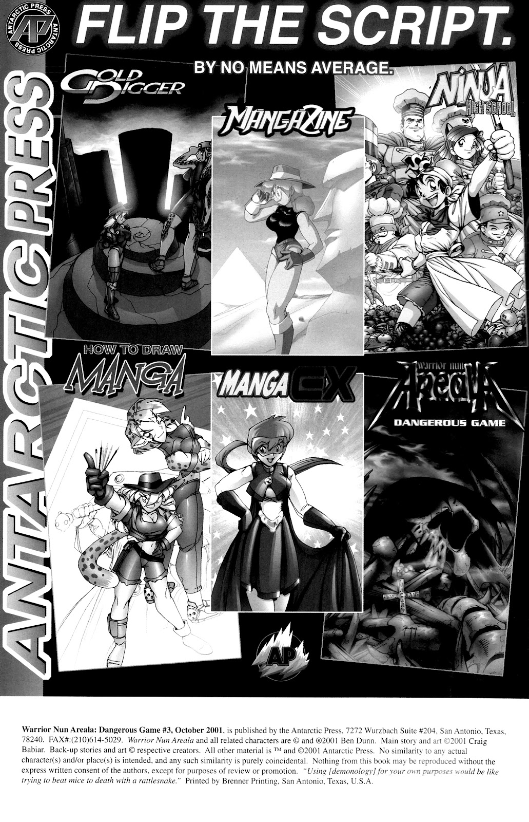 Warrior Nun Areala:  Dangerous Game Issue #3 #3 - English 2