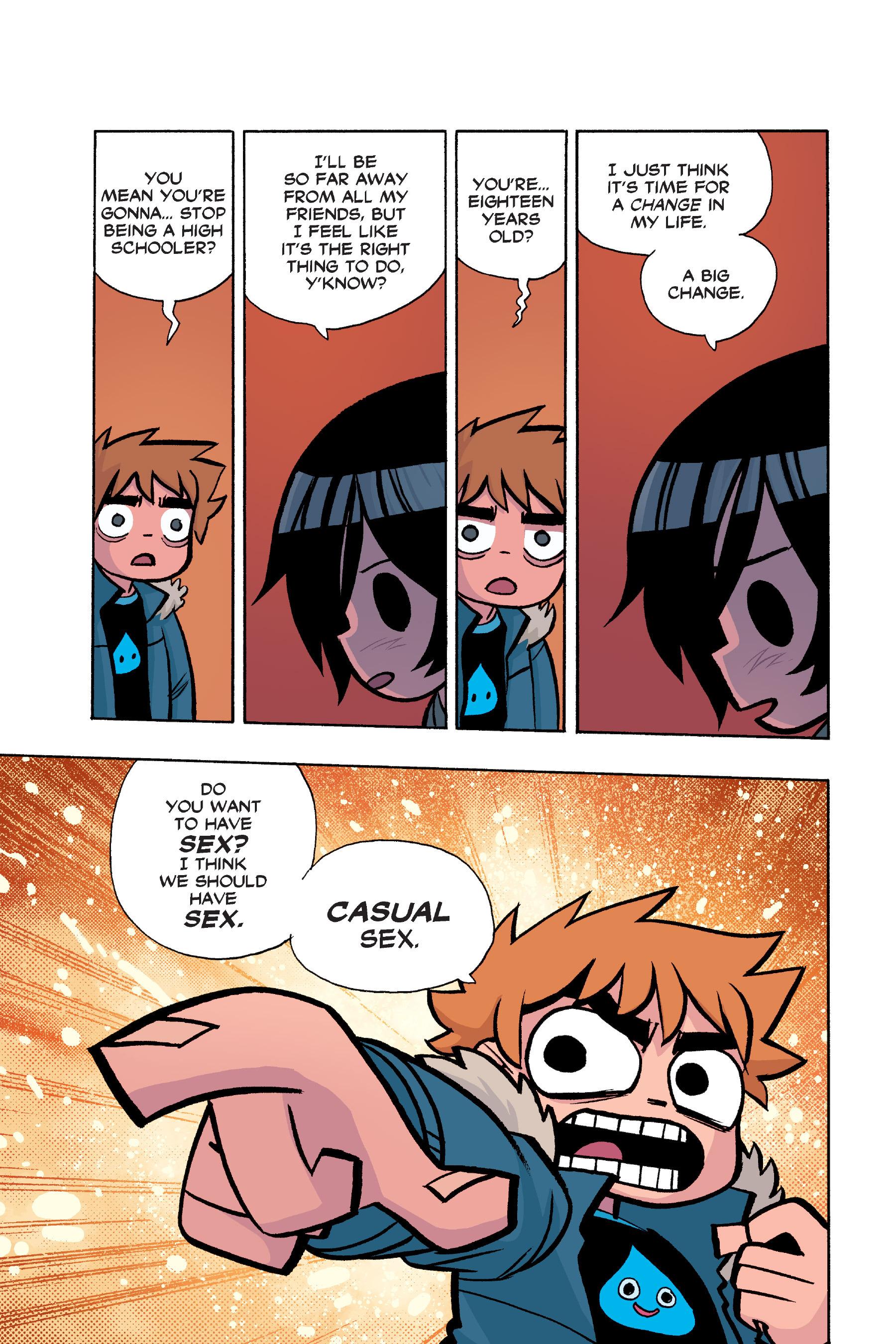 Read online Scott Pilgrim comic -  Issue #6 - 32