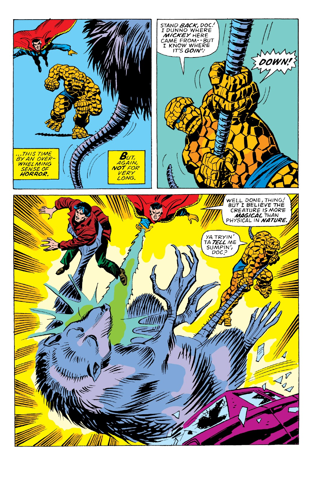 Read online Marvel Two-In-One Epic Collection: Cry Monster comic -  Issue # TPB (Part 2) - 57