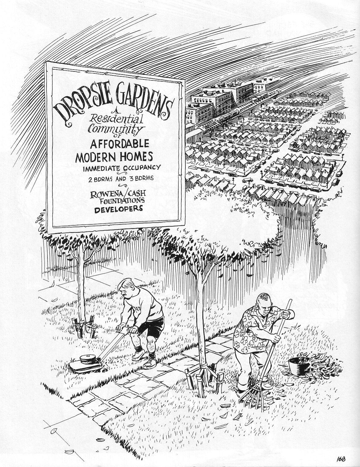 Read online Dropsie Avenue, The Neighborhood comic -  Issue # Full - 170