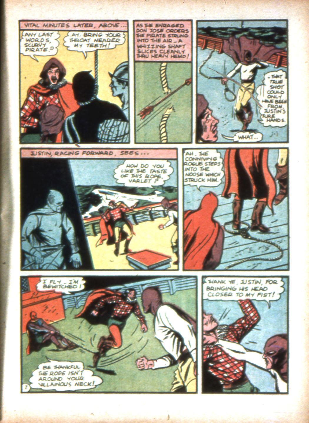Read online Sensation (Mystery) Comics comic -  Issue #16 - 23