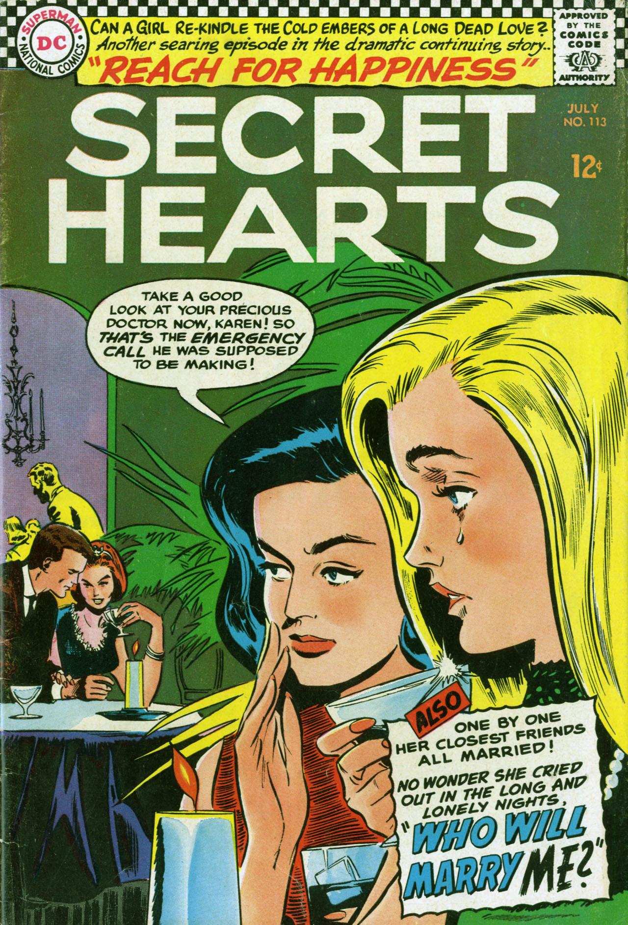 Secret Hearts 113 Page 1