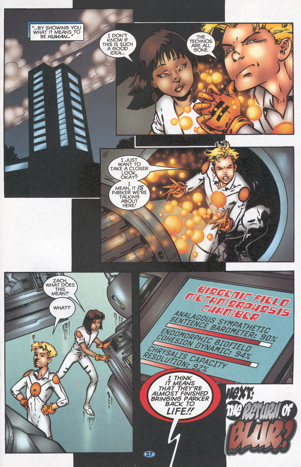 Read online Troublemakers comic -  Issue #14 - 23