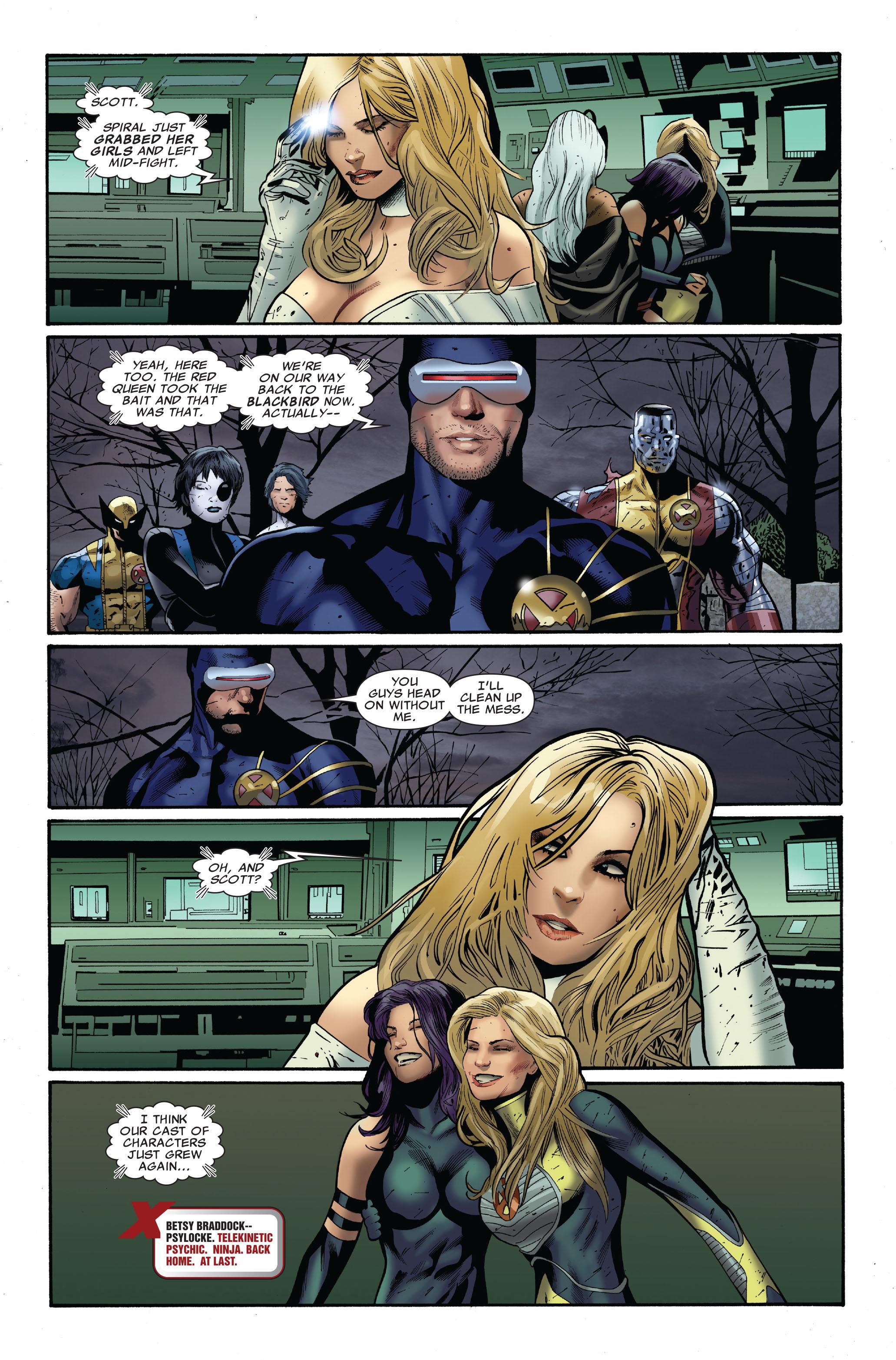 Read online Uncanny X-Men (1963) comic -  Issue #511 - 26