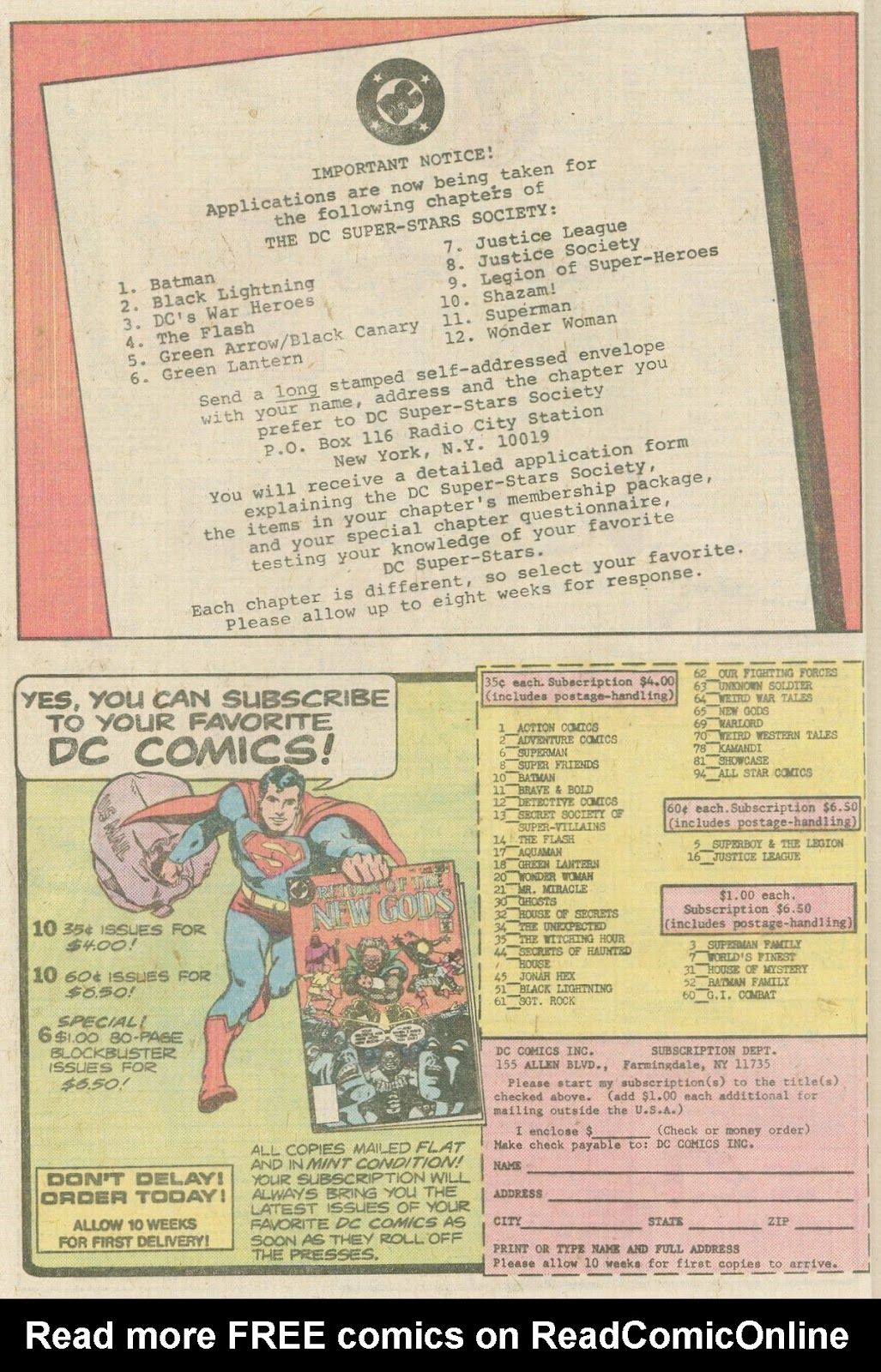 Comic The Superman Family issue 25