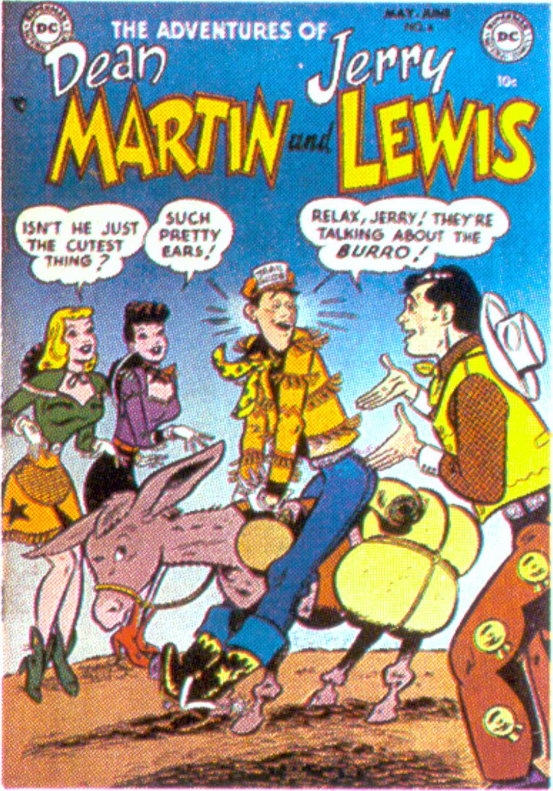 The Adventures of Dean Martin and Jerry Lewis 6 Page 1