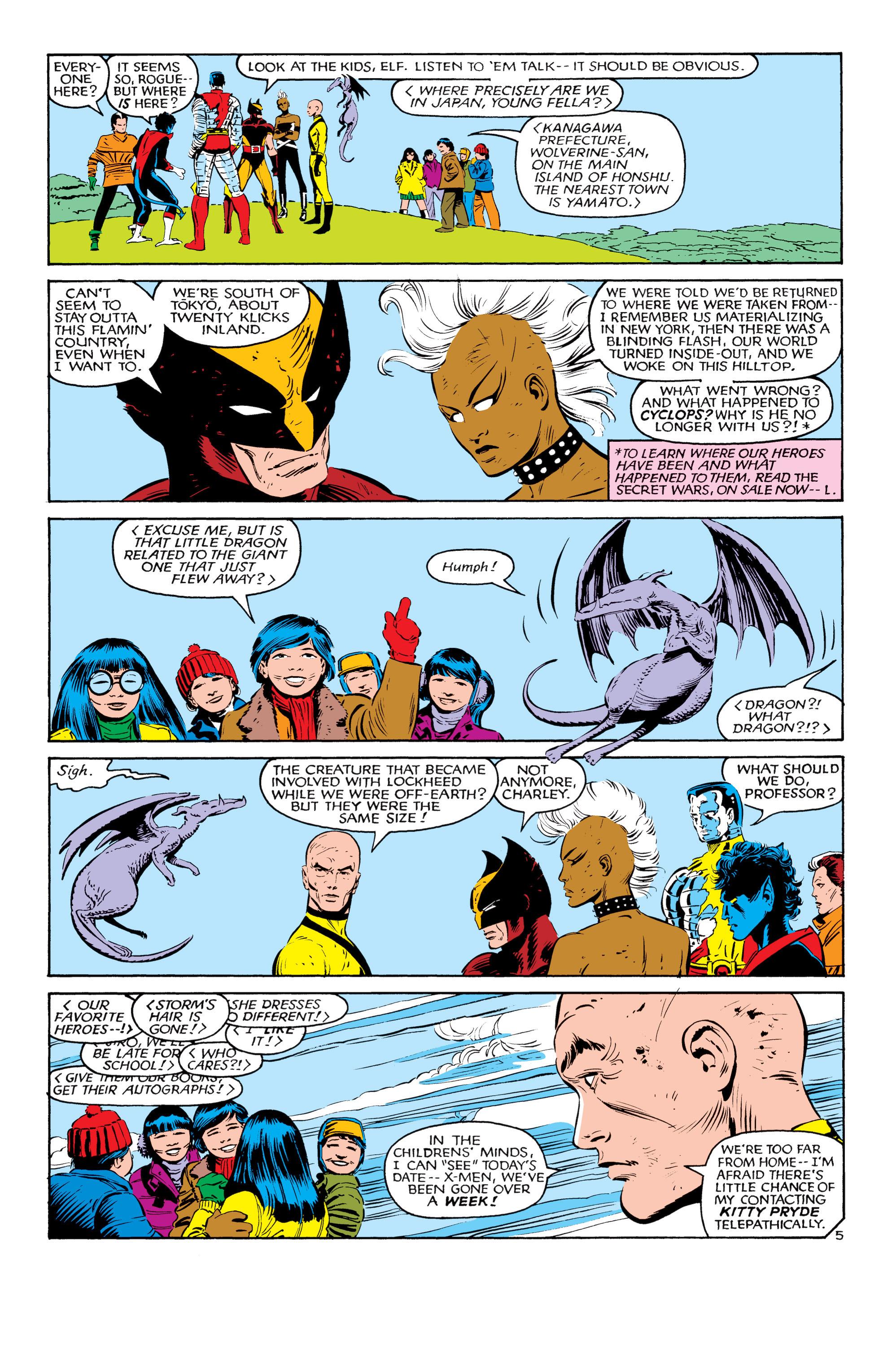 Read online Uncanny X-Men (1963) comic -  Issue #181 - 5