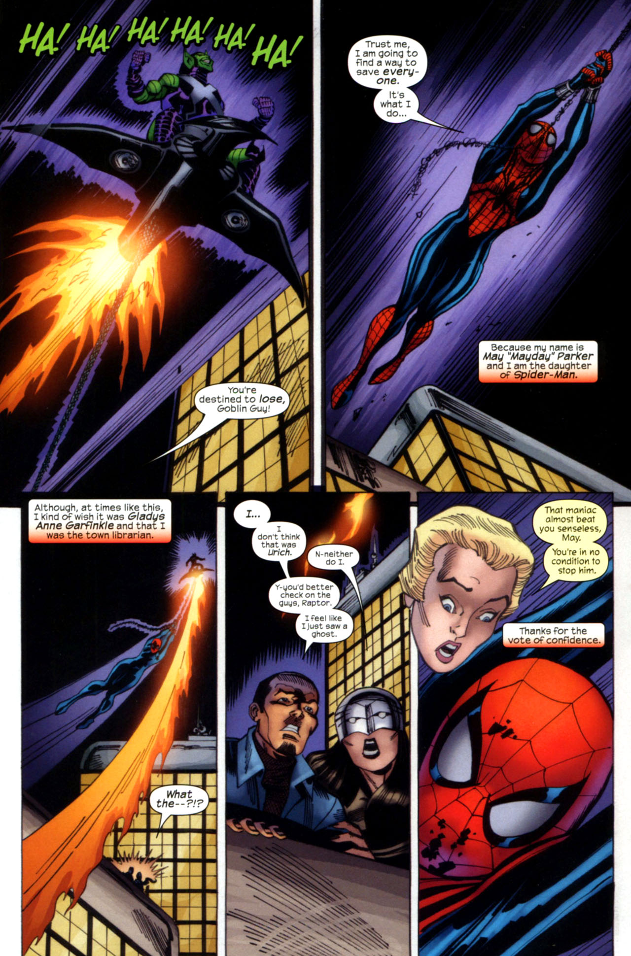 Read online Amazing Spider-Girl comic -  Issue #28 - 20