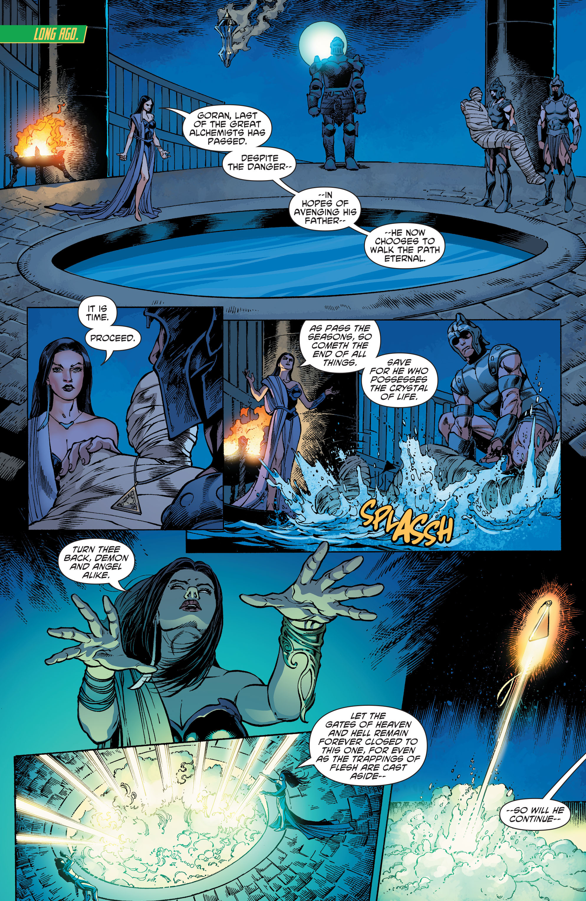 Read online Aquaman and the Others comic -  Issue #5 - 2