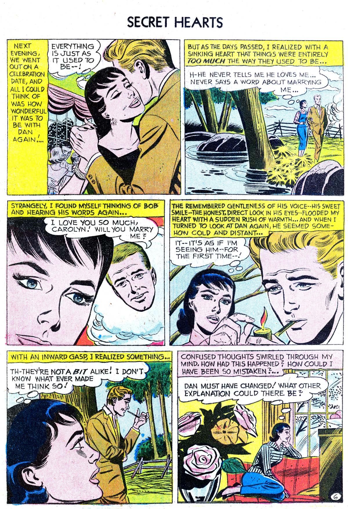 Read online Secret Hearts comic -  Issue #38 - 22