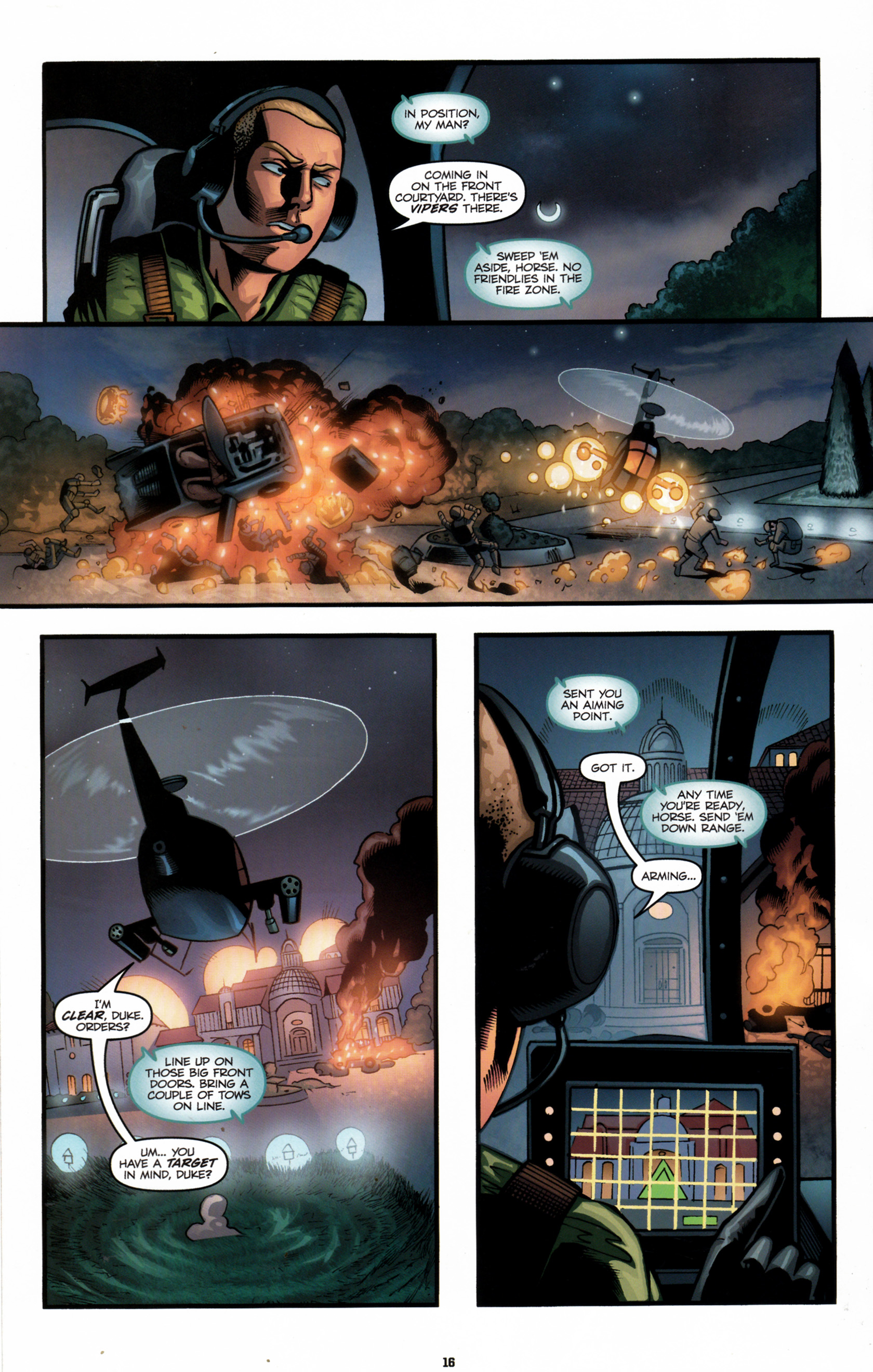 Read online G.I. Joe: Snake Eyes comic -  Issue #6 - 19