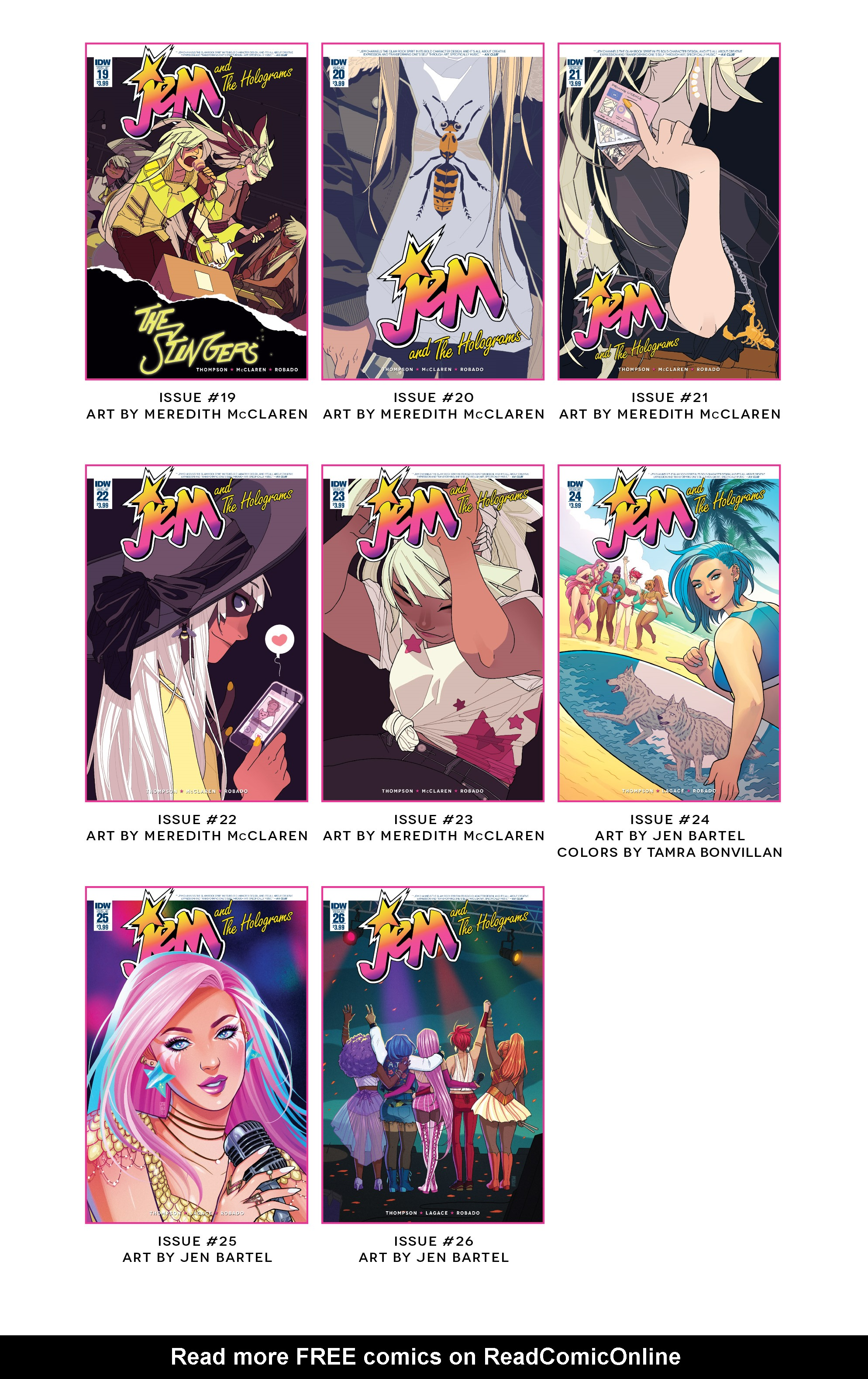 Read online Jem and The Holograms comic -  Issue #26 - 33