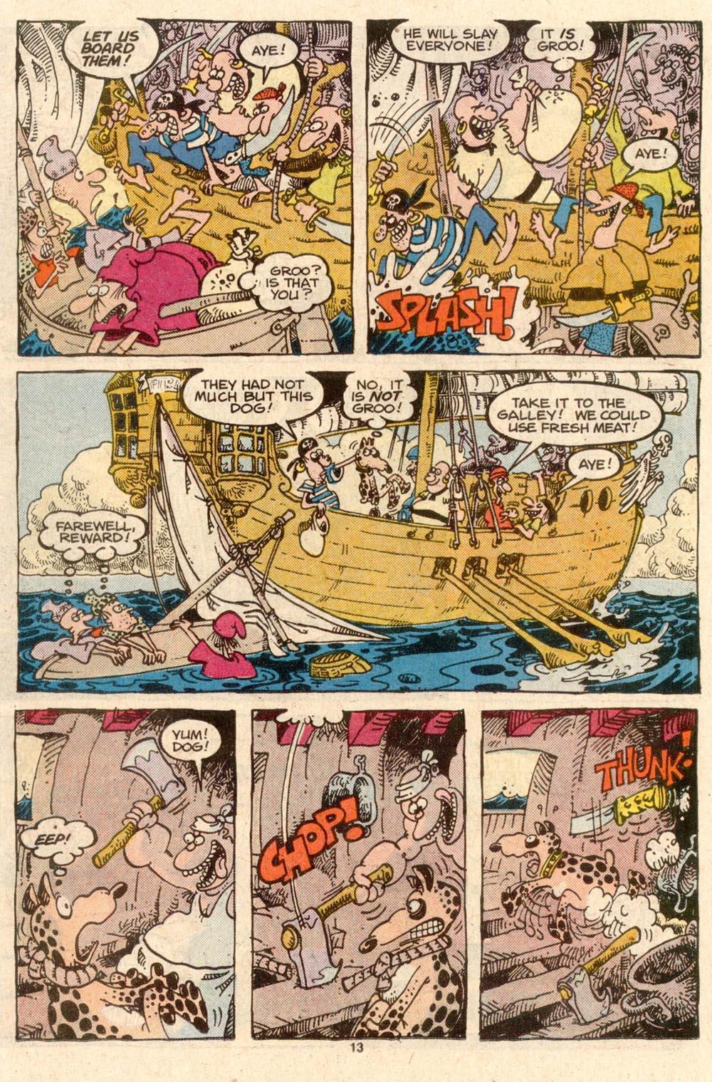 Read online Sergio Aragonés Groo the Wanderer comic -  Issue #45 - 13