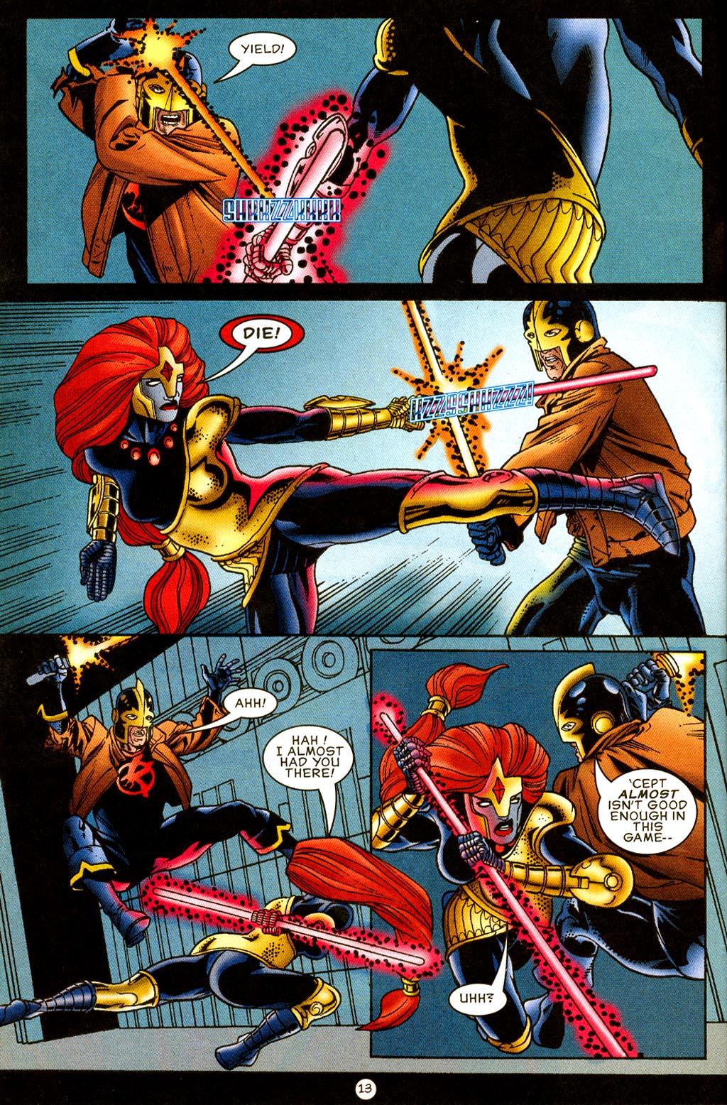 Read online UltraForce (1995) comic -  Issue #8 - 14