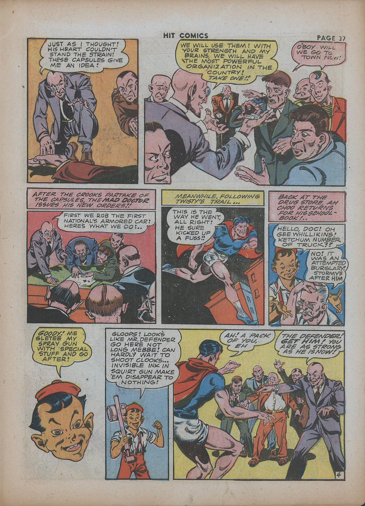 Read online Hit Comics comic -  Issue #26 - 38