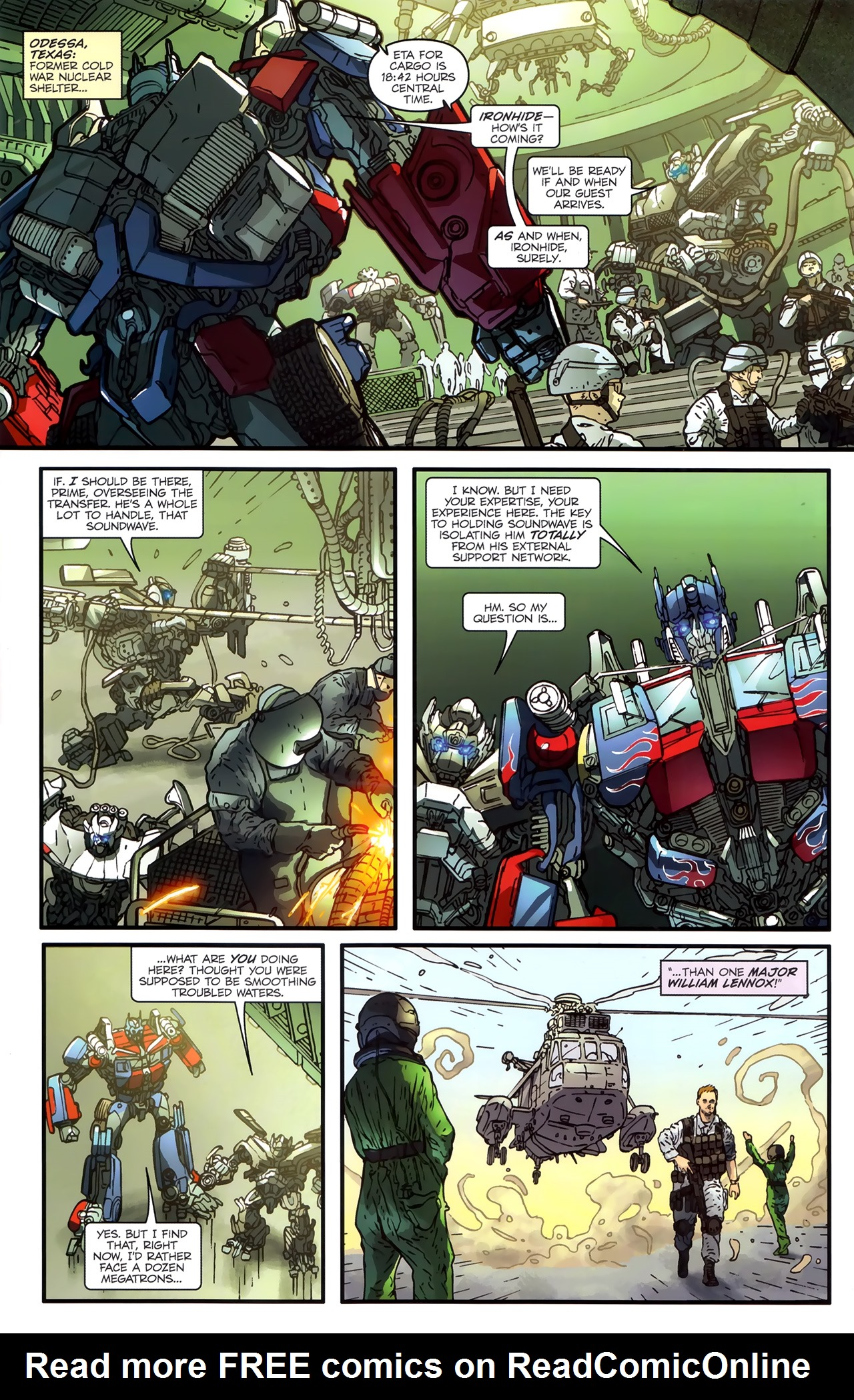 Read online Transformers: Nefarious comic -  Issue #3 - 8
