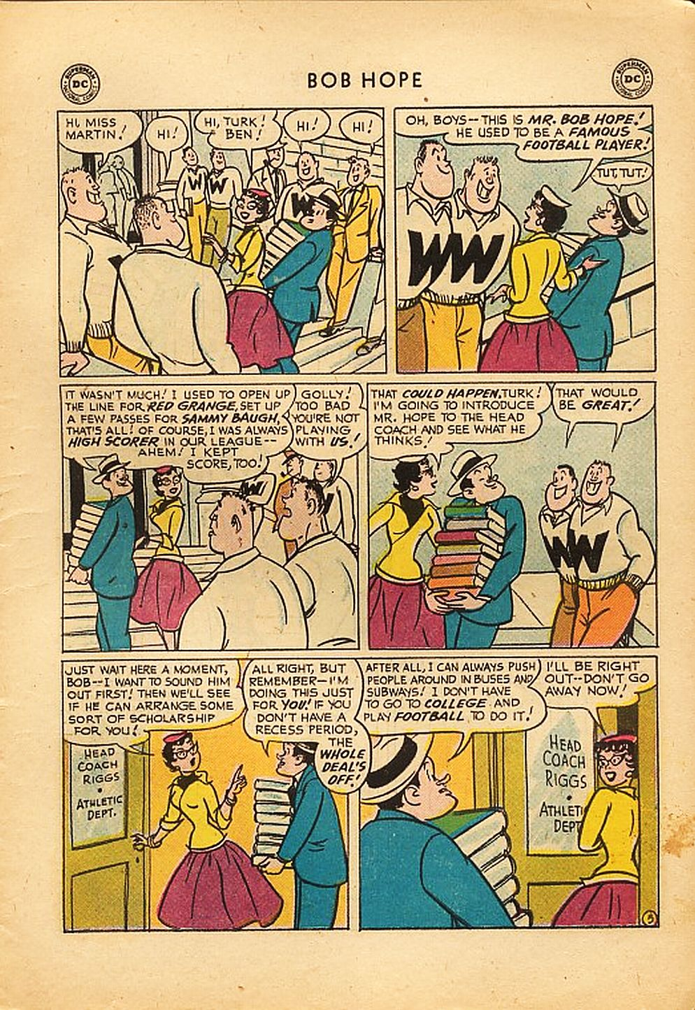 The Adventures of Bob Hope issue 42 - Page 7