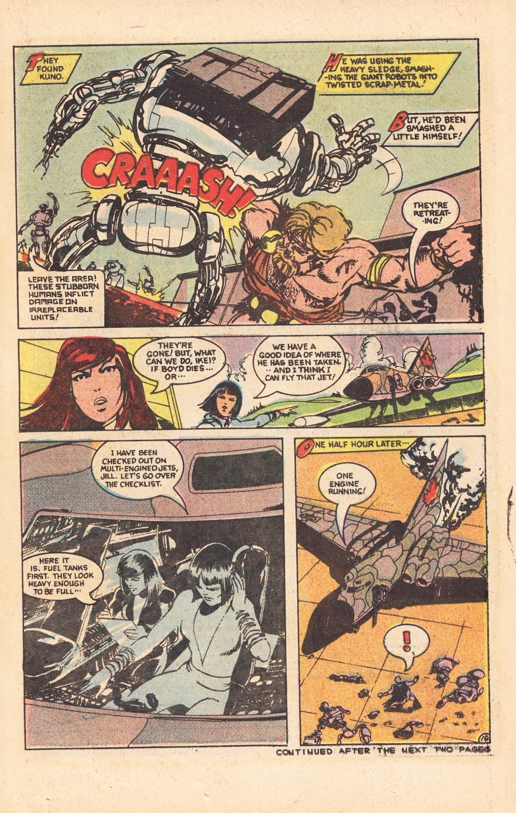 Read online Doomsday   1 (1975) comic -  Issue #8 - 20