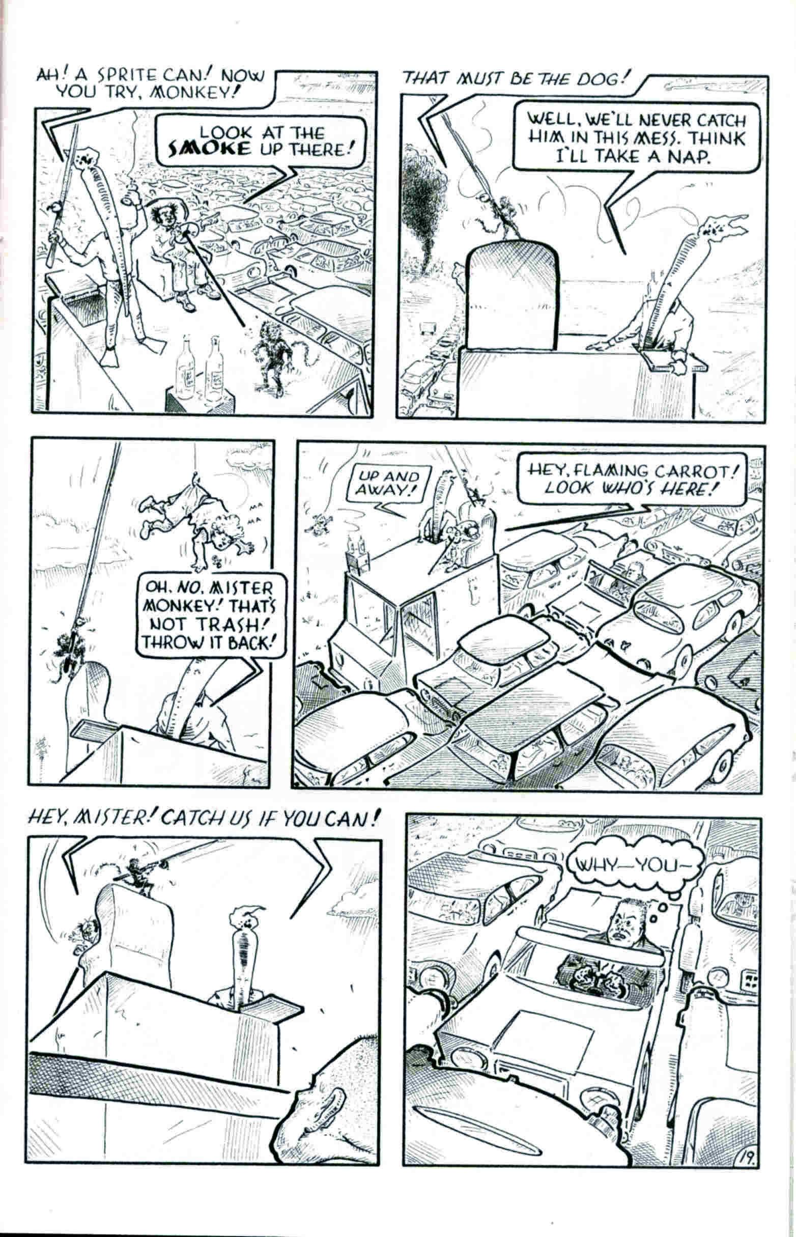 Read online Flaming Carrot & Reid Fleming, World's Toughest Milkman comic -  Issue # Full - 19
