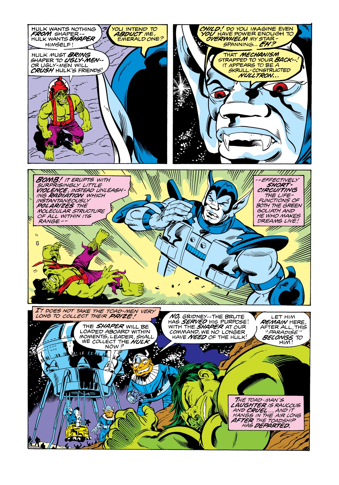 Read online Marvel Masterworks: The Incredible Hulk comic -  Issue # TPB 11 (Part 2) - 49