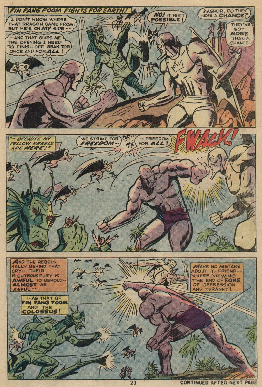 Read online Astonishing Tales (1970) comic -  Issue #23 - 16