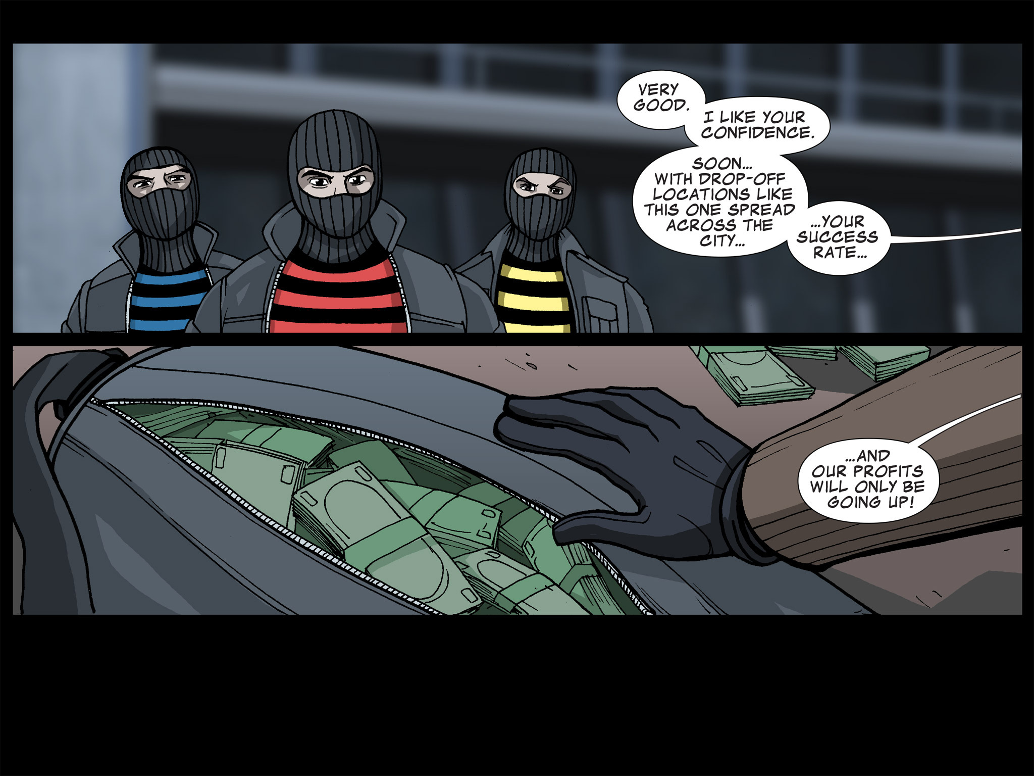 Read online Ultimate Spider-Man (Infinite Comics) (2015) comic -  Issue #17 - 36