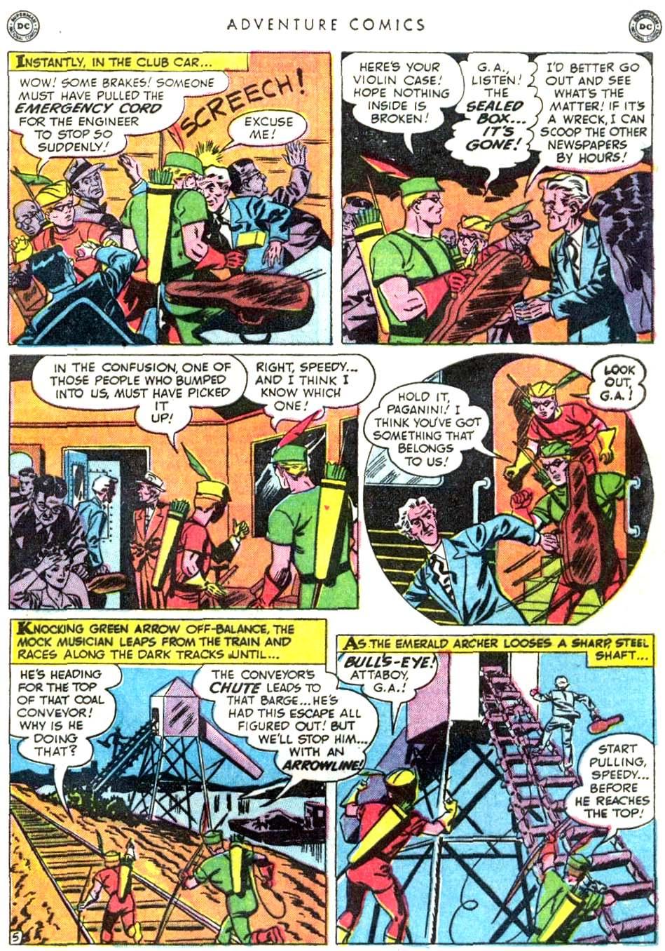 Read online Adventure Comics (1938) comic -  Issue #156 - 43