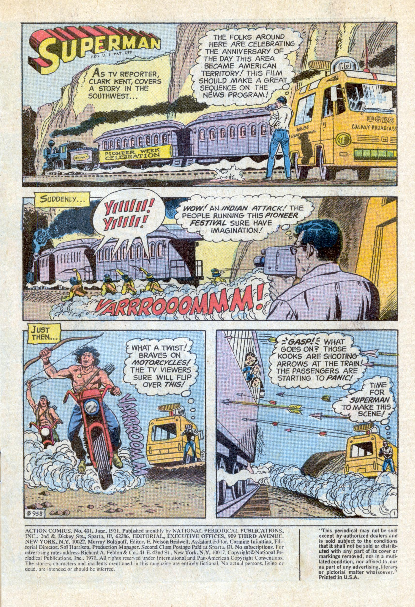 Action Comics (1938) 401 Page 2