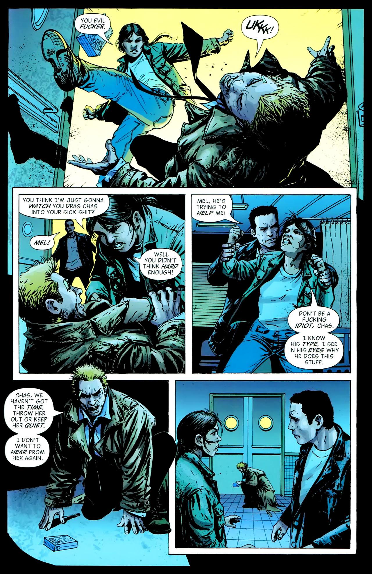 Read online John Constantine Hellblazer: All His Engines comic -  Issue # Full - 101