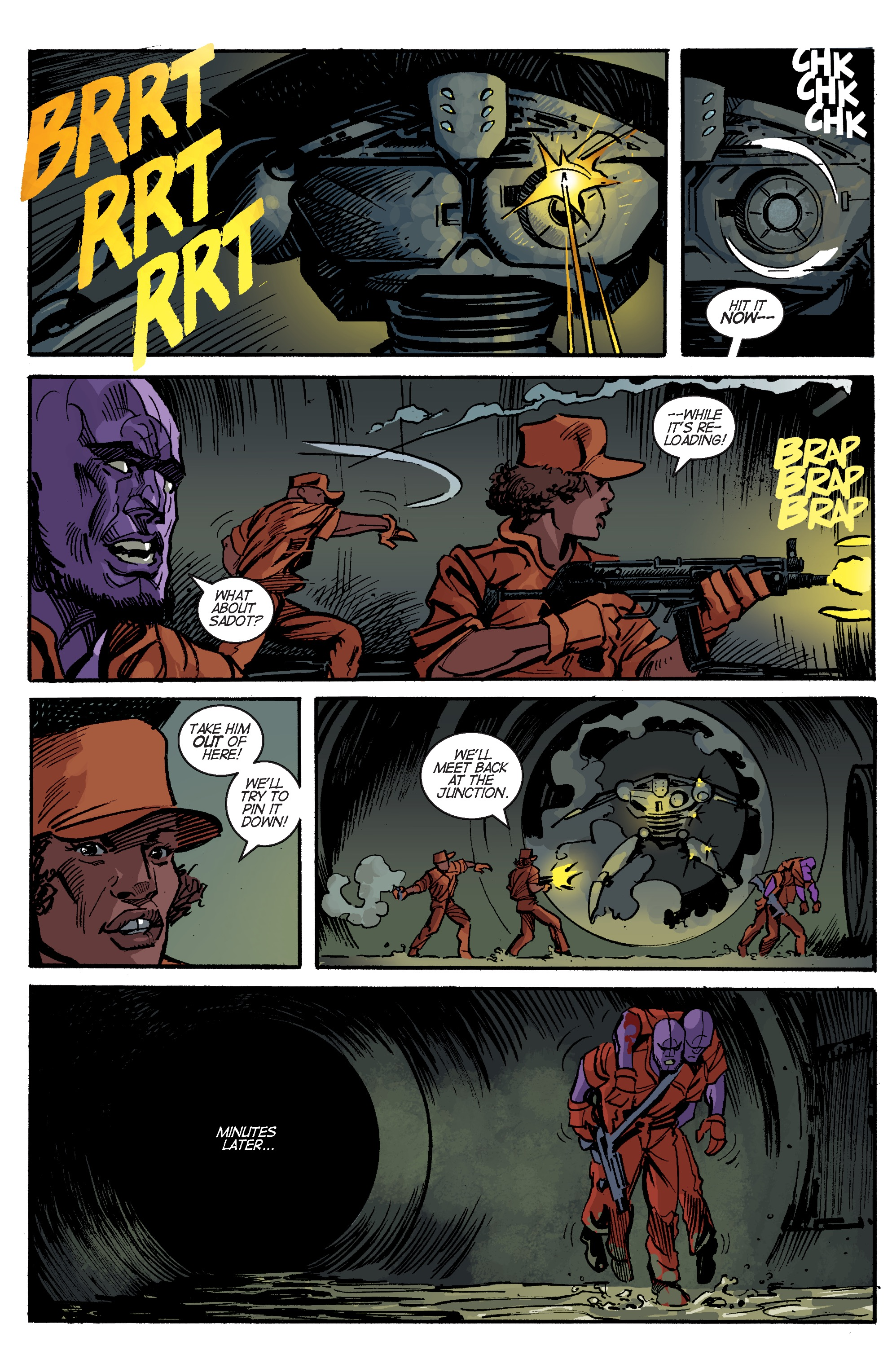 Read online Planetoid Praxis comic -  Issue #5 - 16