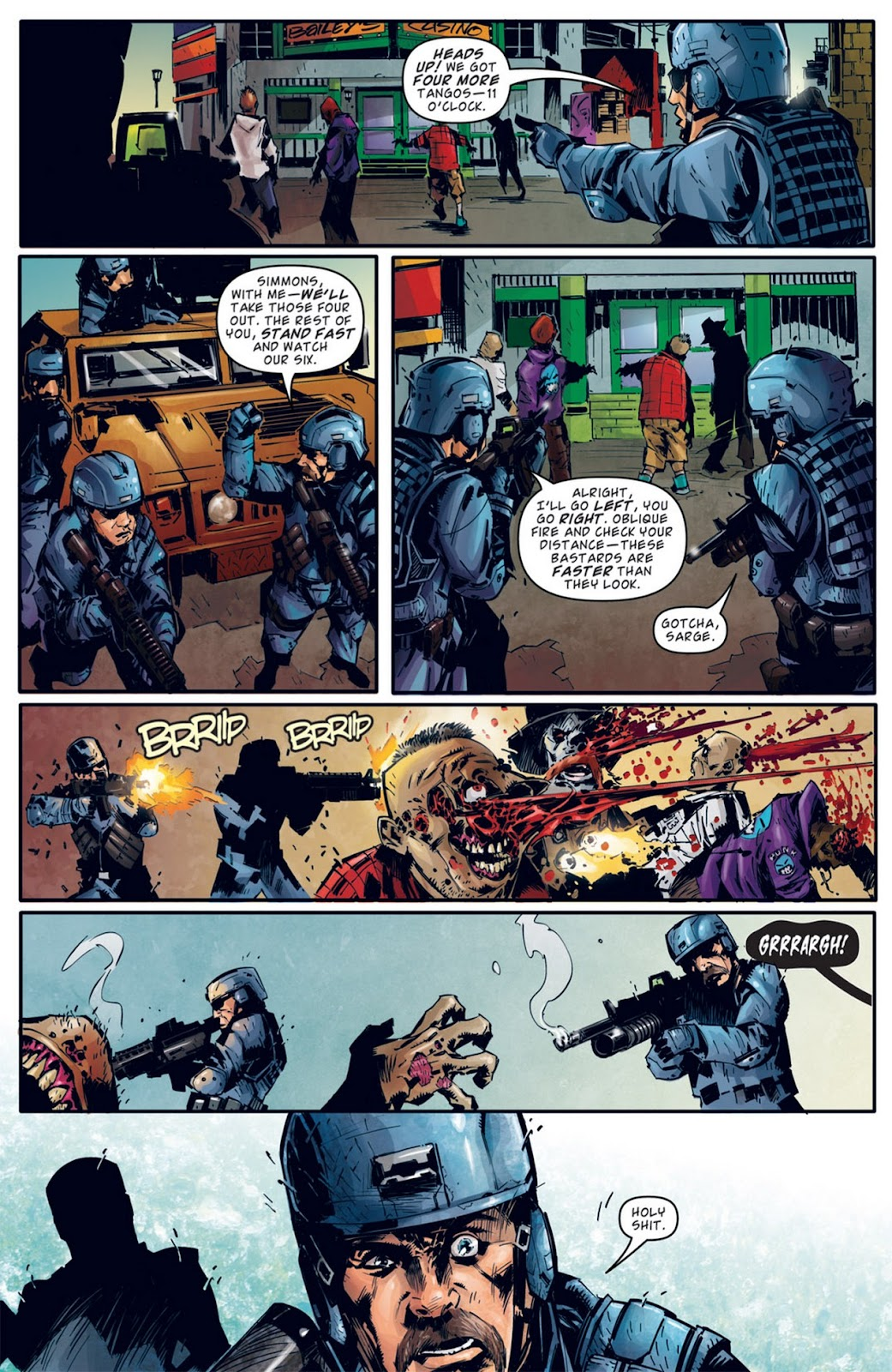 Read online Dead Rising: Road to Fortune comic -  Issue #2 - 7