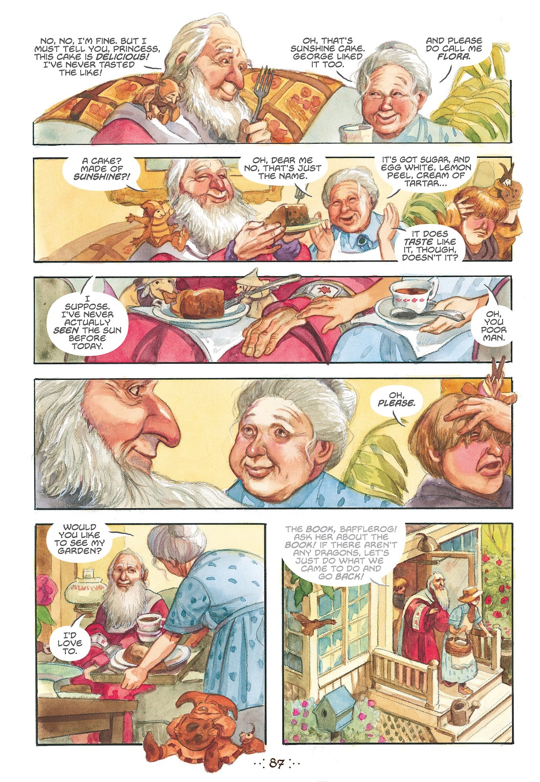 Read online The Wizard's Tale comic -  Issue # TPB - 83