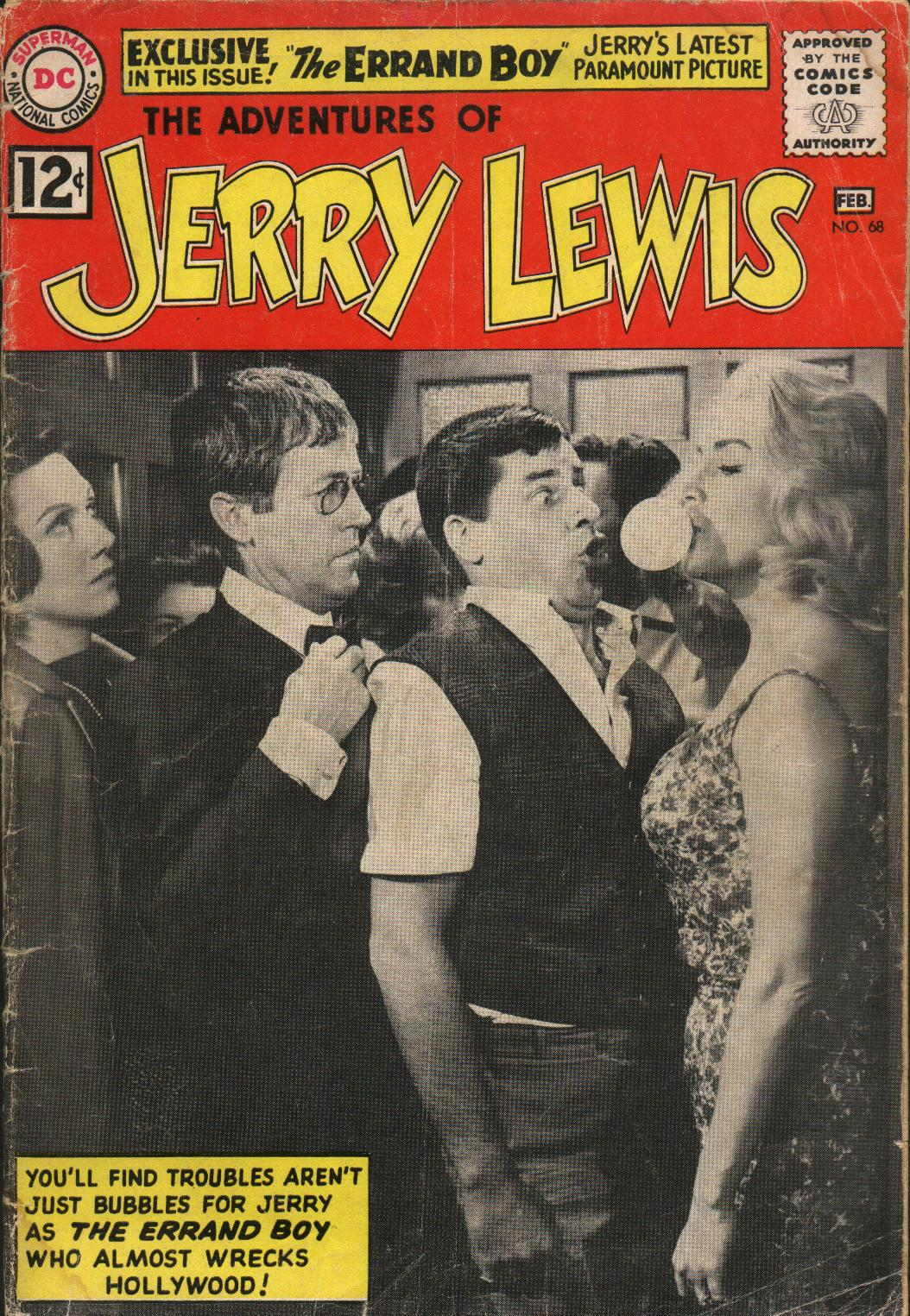 The Adventures of Jerry Lewis 68 Page 1
